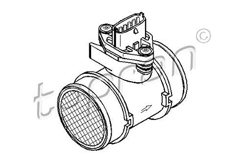 Sensor de flujo de aire masivo MAF compatible con OPEL Corsa Astra H G Wagon Agila 1.0-1.6L 2002-Â