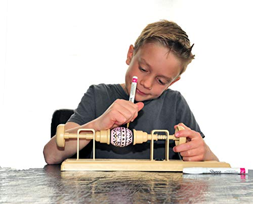 Egg Decorating Kit with One-Hole Egg Blower Pump