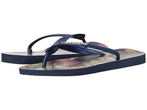 Havaianas Women's Disney Stylish Flip Flops Navy Blue Sandal 41/42 Brazil (US Men's 9/10, Women's 11/12) - Havianas Brazil