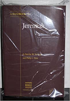 Book A Handbook on Jeremiah (Ubs Handbooks Helps for Translators)