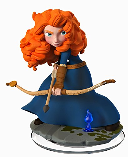Disney Infinity 2.0 Merida Figure (Xbox One/360/PS4/Nintendo Wii U/PS3) (Elsa And Anna And Rapunzel And Merida Games)