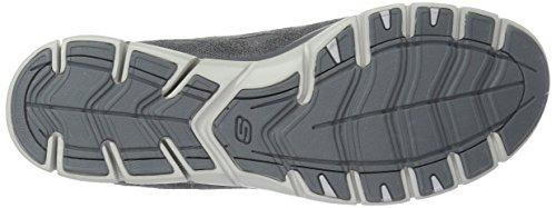 Skechers Womens Gratis Semplicemente Sereno Fashion Sneaker Carboncino