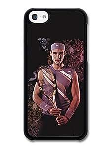 Rafa Nadal Flowers Portrait Tennis Player case for iPhone 5C