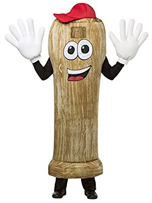 Waver Costumes Adult Baseball Bat Mascot Costume