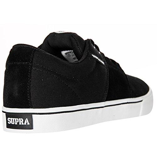 Supra - Zapatillas de Piel para hombre negro negro/negro, color negro, talla 45