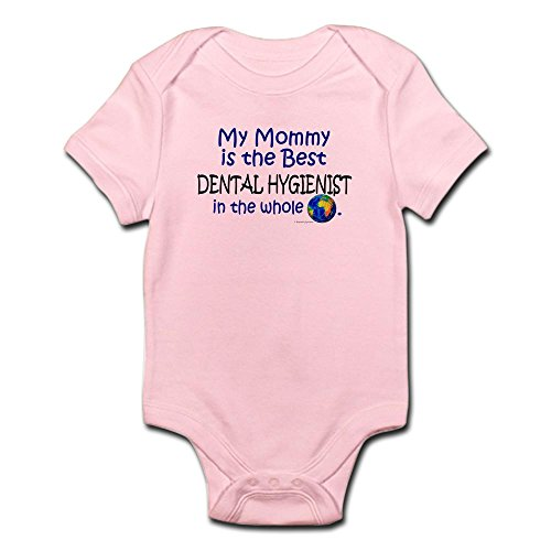 CafePress – Best Dental Hygienist In The World (Mommy) Infant – Cute Infant Bodysuit Baby Romper