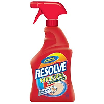 Resolve Carpet Cleaner with Triple Oxi Action Advanced Carpet Stain Remover, 22 oz