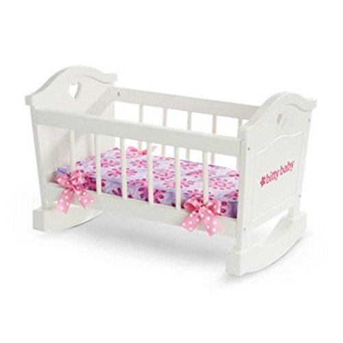 Rockabye Furniture Baby (Bitty's Rocking Cradle American Girl Bitty Baby)