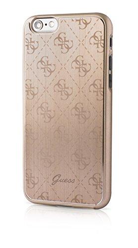 Guess GUHCP6MEGO 4G Collection Metallic Hard Case für Apple iPhone 6/6S 11,9 cm (4,7 Zoll) gold