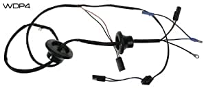 amazon com  mustang door light speaker wiring w   speakers