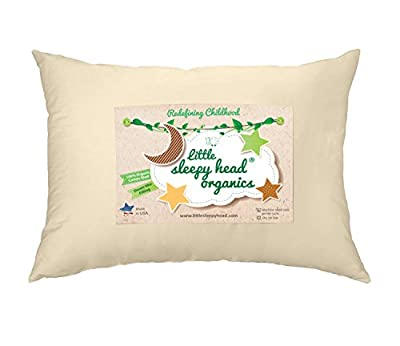 Little Sleepy Head Toddler Pillow, Organic Cotton, Down-like Fill, Ivory 13 X 18 by Little Sleepy Head that we recomend individually.
