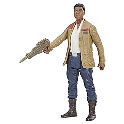 Star Wars: The Last Jedi Finn (Resistance Fighter) Force Link Figure 3.75 Inches: Toys & Games