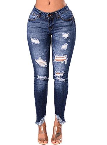 GOSOPIN Women Skinny Jeans Casual Stretch Jeans Leggings