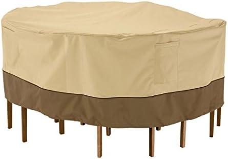 Home Decorators Collection Veranda Table Chair Set Cover, Small, PBBL Earth BARK