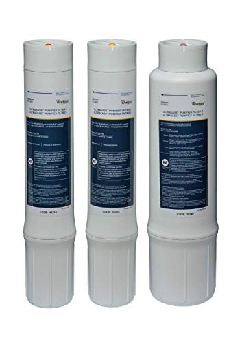 Purchase Whirlpool WHEMBF Purifier Water Fits WHAMBS5 & WHEMB40 Filtration Systems | Extra Long Life...