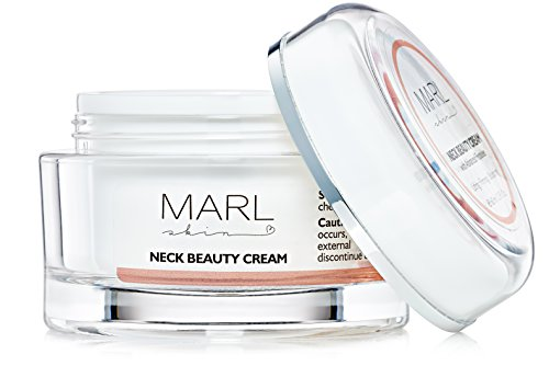Neck Cream by MARLskin (60 ml) | Anti Aging Skincare with Peptides – for Neck Lift and Firming – Moisturizer for Neck and Chest by MARLskin