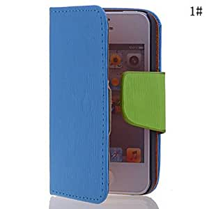 JJEPurity PU Leather Full Body Case for iPhone 4/4S(Assorted Colors) , Rose
