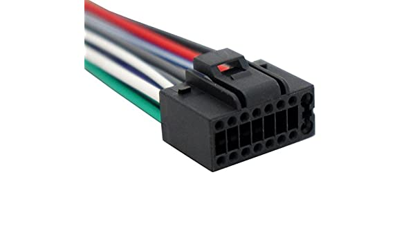 [SCHEMATICS_48EU]  Amazon.com: Compatible with Kenwood KDC-222 Aftermarket Stereo Radio  Receiver Replacement Wire Harness Cable: Car Electronics | Kenwood Kdc 122 Wiring Diagram Colors |  | Amazon.com