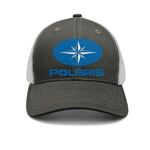 (Unisex Men Polaris Motorcycle Logo Adjustable Baseball Dad Trucker Cap Hat)