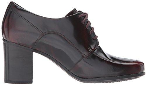 Clarks , Damen Sneaker burgunderfarben