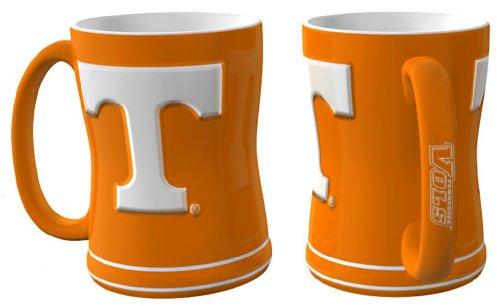 Tennessee Volunteers Coffee Mug - 14oz Sculpted (Tennessee Coffee Mug)