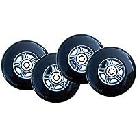 Kick Push 4 Wheels + ABEC-7 Bearings for Razor Pro Kick Scooter