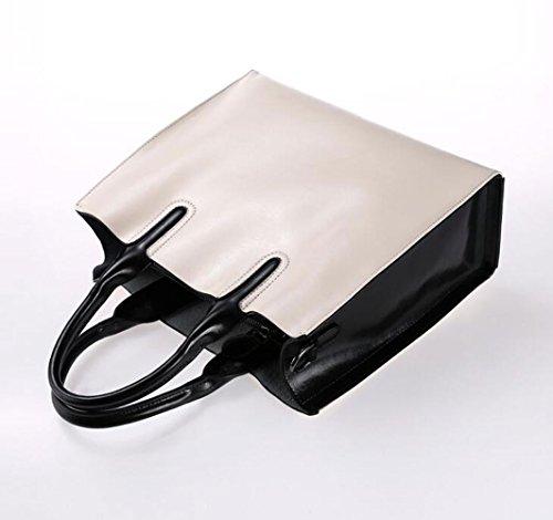 Convient poignée Cross Sac sac fourre Satchel tout élégant en Couleur Grande filles quotidien un Body usage sac à Femmes à cuir Bags Sacs pour main à main Lait noir1 Blanc Violet les pour bandoulière capacité BqZEx4U