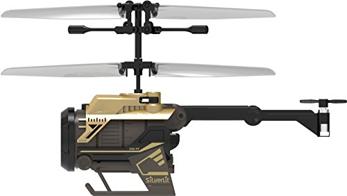 Helicopter Videos Rc - Silverlit Nano Spy Cam Video Helicopter, Gold/Black