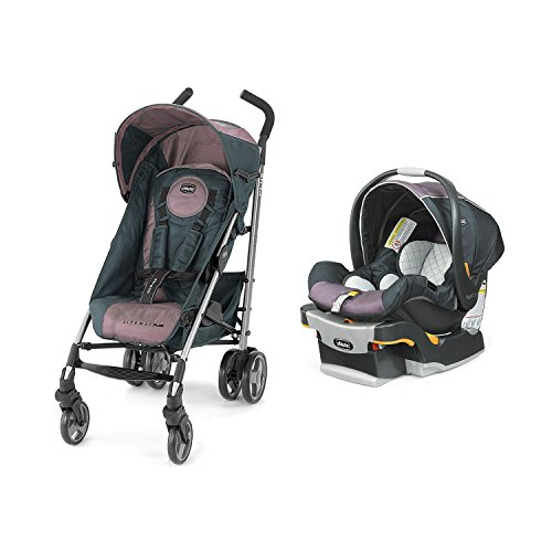 Chicco Lightweight Stroller Car Seat Compatible - 7