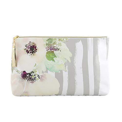 Creative Brands Santa Barbara Travel Tassel Large Oil Cloth Bag Pouch 16