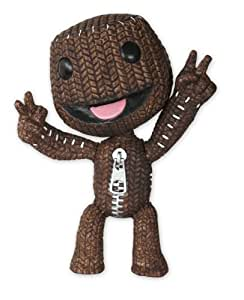 Little Big Planet - Muñeco de Sackboy grande, color marrón