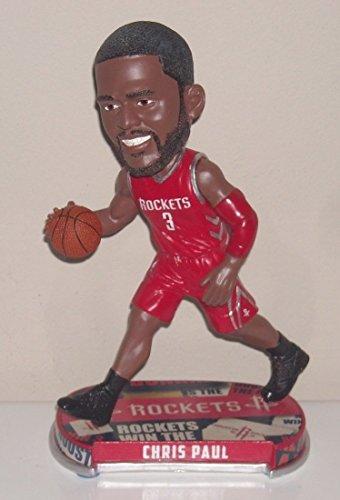 Houston Rockets Paul C. #3 Headline Bobble