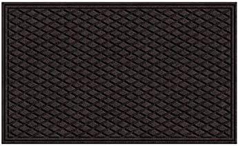 Member/'s Mark Commercial Heavy Duty Entrance Door Floor Mat Charcoal 3/' x 5/'
