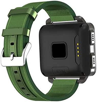 KLAYL Reloj Inteligente GPS SmartWatch para Android DM99 1200mAh ...