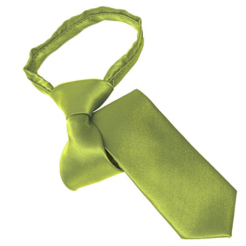 Lawn Green Youth Zipper Tie by Tie the Knot Attire