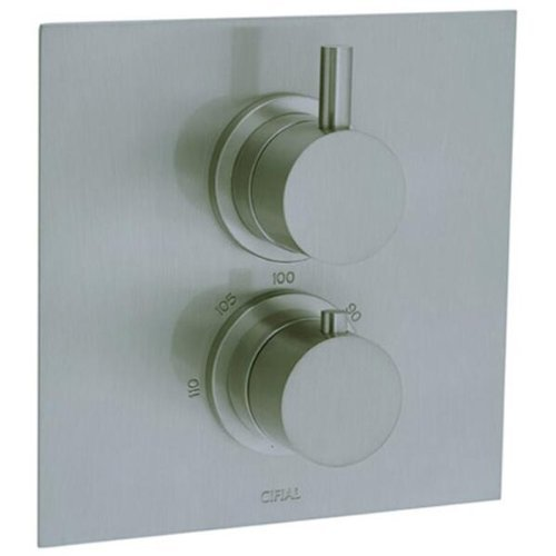 cifial-221614620-techno-thermostatic-valve-trim-with-volume-control-satin-nickel