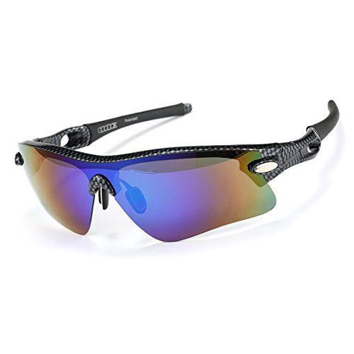 ODODOS Polarized Sports Sunglasses for Driving Cycling ...