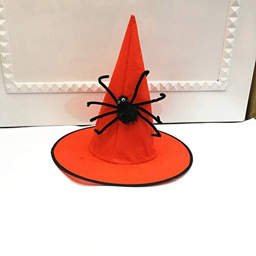 Disposable Party Supplies- Halloween Hat Cosplay Halloween Witch Hat Party Decoration