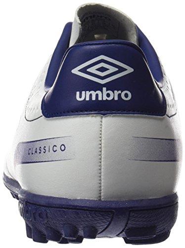 Umbro Umbro Classico 4 Tf - Bota para hombres Blanco / Blueprint