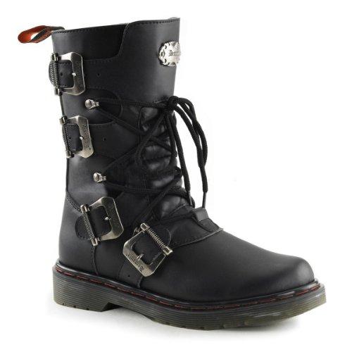 Demonia Unisex Disorder 306 Boots,Black,7 M