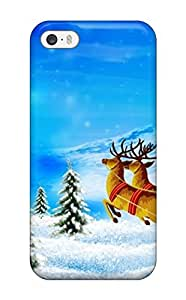 KnGpxvT163igWXO Merry Christmas1 Fashion Tpu 5/5s Case Cover For Iphone