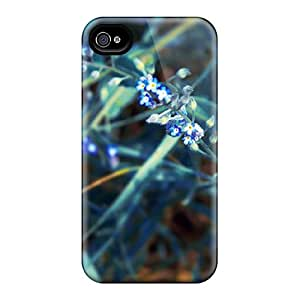 Hot Snap-on Wild Flower Hard Cover Case/ Protective Case For Iphone 4/4s