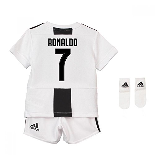 UKSoccershop 2018-19 Juventus Home Baby Kit (Cristiano Ronaldo 7) a5005347a
