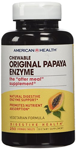 American Health Products - Original Papaya Enzyme, 250 chewable tablets