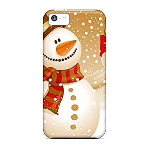 Personality customization Perfect Case For Iphone 5c/ Anti-scratch Protector Case (snowman) By CUY Cases