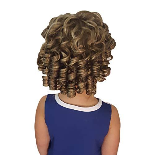 Cheerleader Ringlet Curly Drawstring Ponytail (14: Light Golden Brown) -