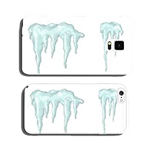 Icicles. Winter theme. Vector illustration. cell phone cover case iPhone6 Plus