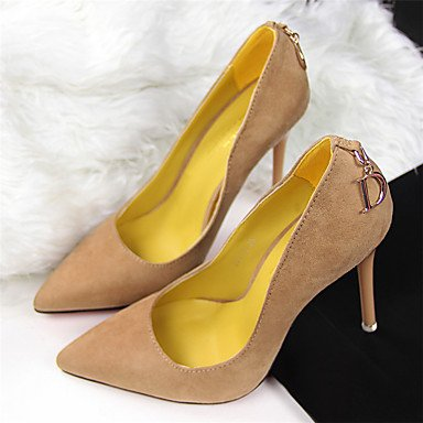 Walking 5 Dress CN33 UK2 Party EU34 US4 Career amp; Spring Fleece 5 Heel Office 2 Shoes amp; Stiletto 4 Summer Women'sHeels Comfort Evening Club Chain FqSHwqa4