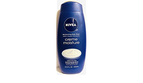 Amazon.com : Nivea Moisturizing Body Wash - Creme Moisture - Net Wt. 13.5 FL OZ (400 mL) Per Bottle - One (1) Bottle : Beauty