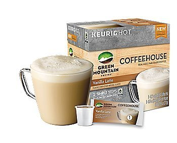 Green Mountain Vanilla Latte Keurig K-Cups, 6 Calculate